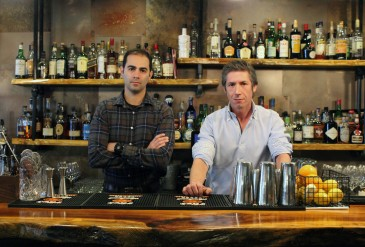 Wander De Brito, general manager, and Mario Lopez, owner, of Craft 14 Kitchen + Bar at 5 River Road.