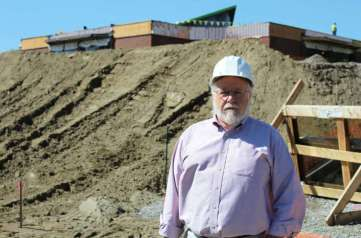 Chris Burney, Wilton's first director of facilities and energy management, is one of the key leaders of the Miller-Driscoll building project — the town's largest project yet.
